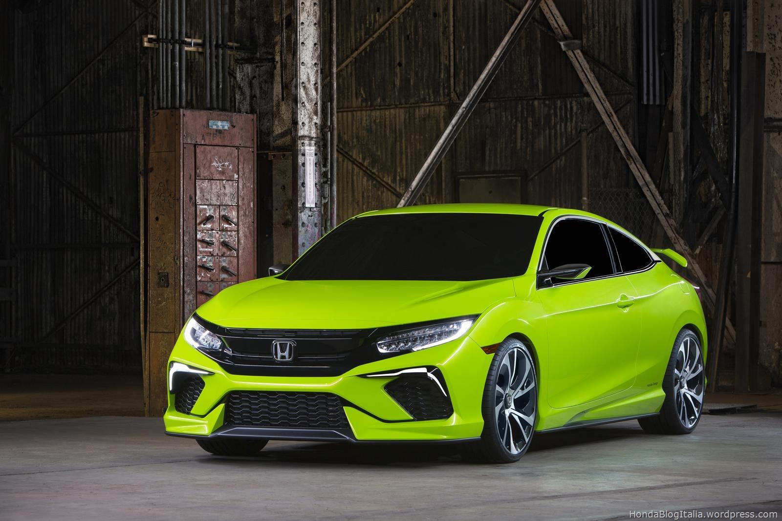 Honda Civic Concept – Debutto al NYIAS 2015 | HONDA Blog Italia