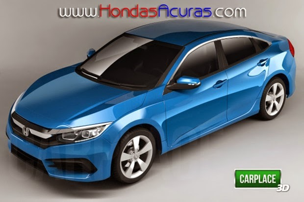 honda civic x berlina 4 porte il probabile aspetto honda blog italia. Black Bedroom Furniture Sets. Home Design Ideas
