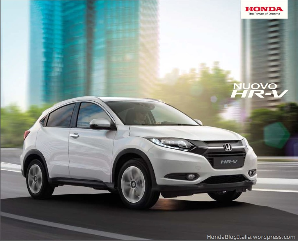 Honda HR-V brochure