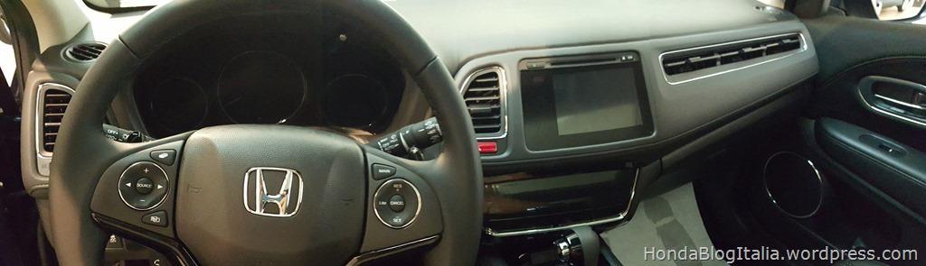 Honda HR-V plancia e comandi
