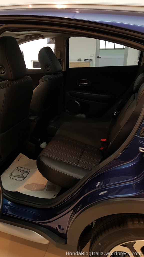 Honda HR-V sedili posteriori