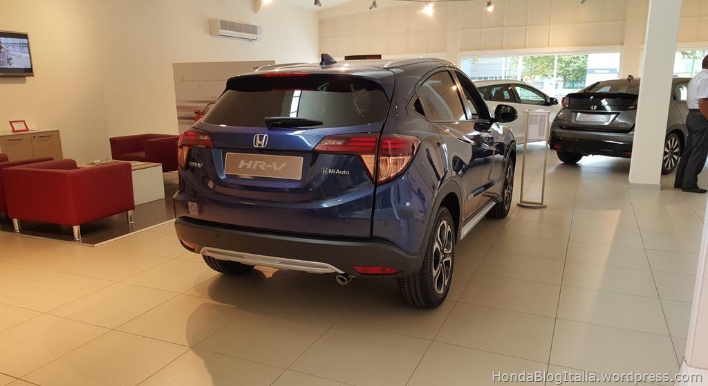 Honda HR-V posteriore