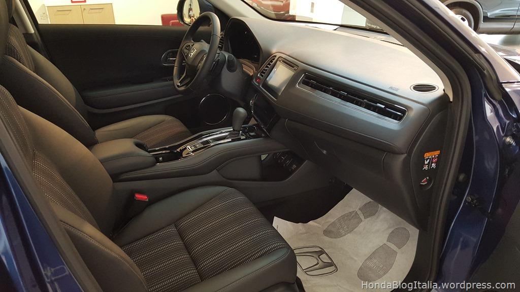 Honda HR-V sedili anteriori