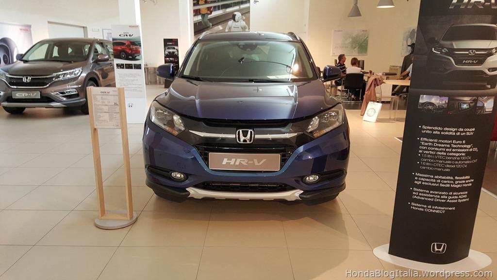 Honda HR-V frontale