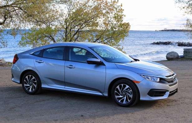 The 2016 Honda Civic EX