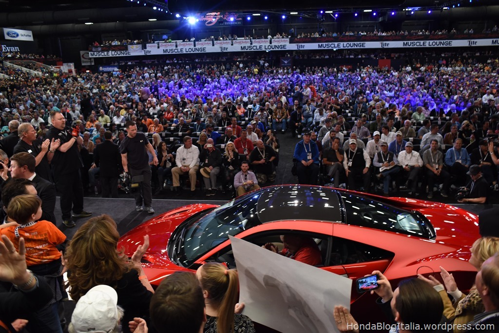 First production model of all-new Acura NSX fetches almost ten times its book price at auction