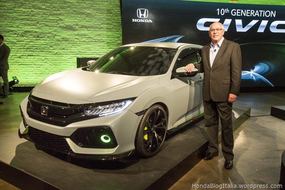2017 Honda Civic Hatchback Prototype