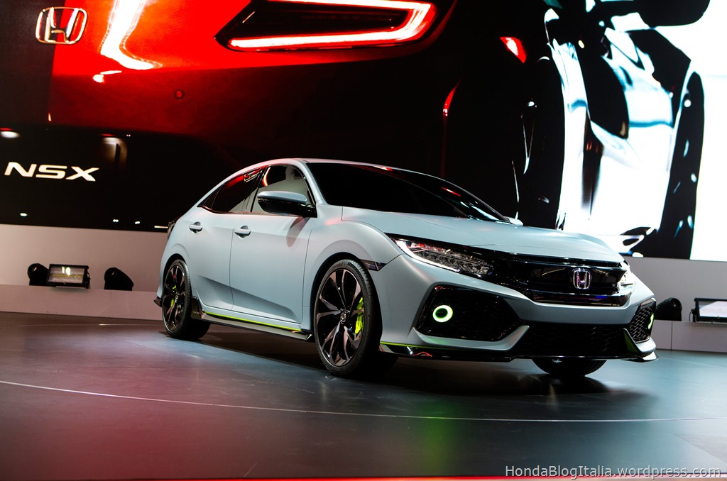 Civic Hatchback Prototype at Geneva Motor Show 2016