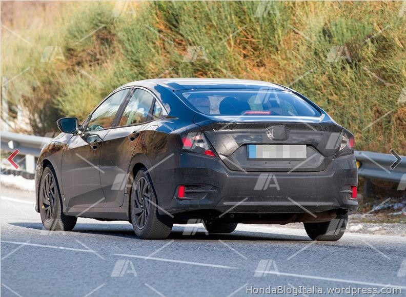 #Honda #Civic X berlina 4 porte: in arrivo anche in Europa? – HONDA Blog Italia