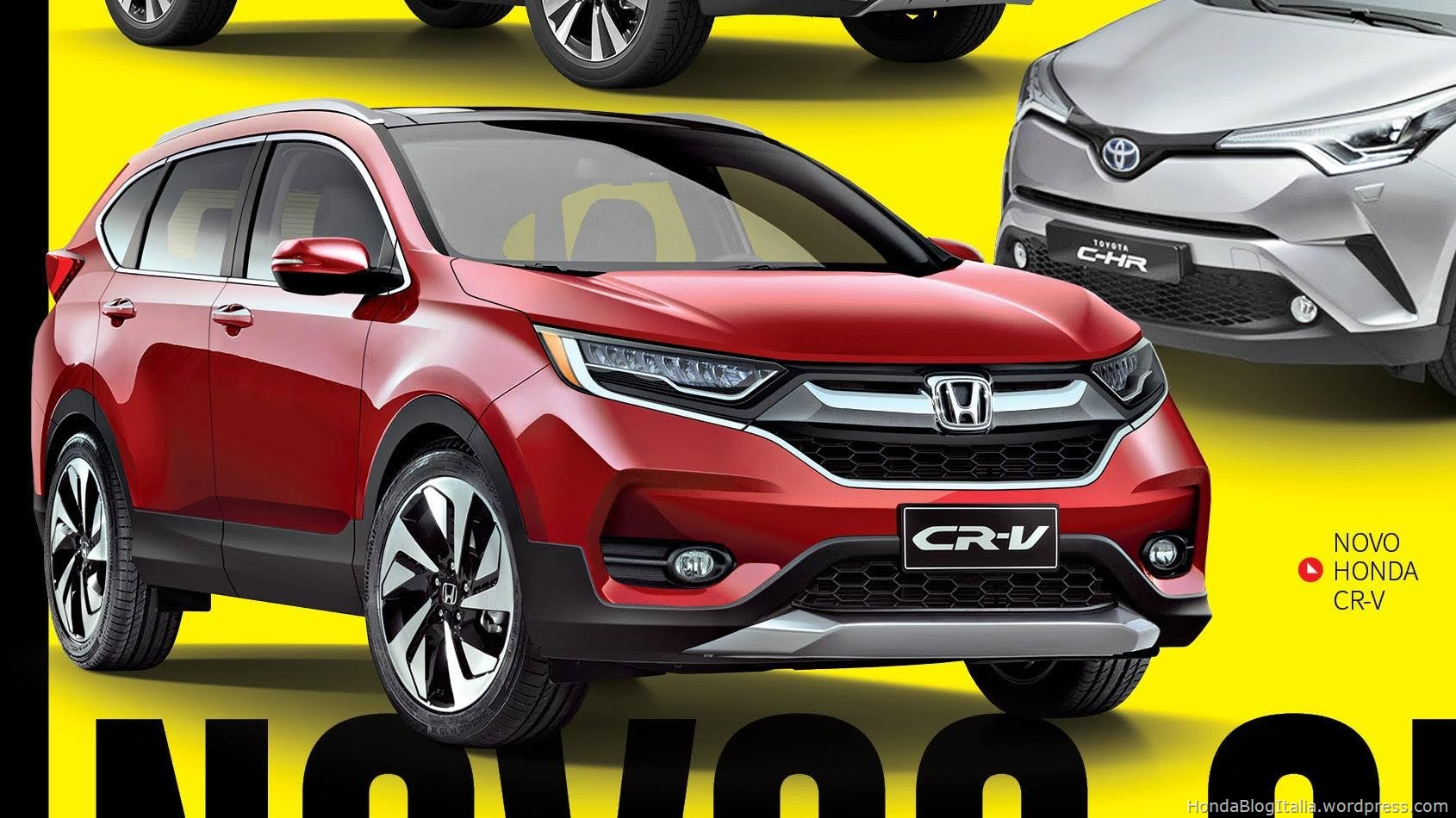 Honda cr v v 2017 nuovo rendering honda blog italia for 2017 honda cr v brochure