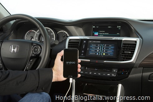 2017 Honda Accord with Android Auto™