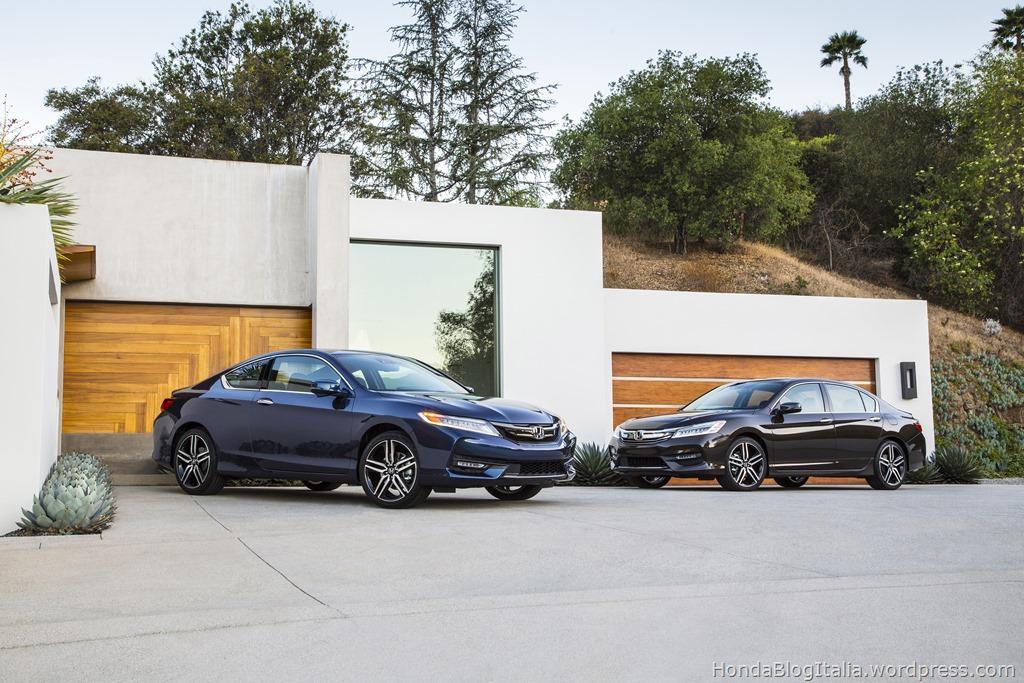 2017 Honda Accord Sedan Touring and Accord Coupe Touring
