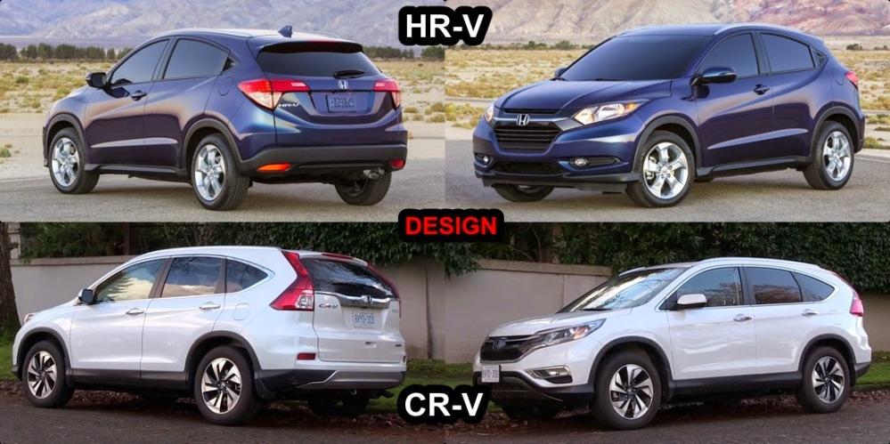 Honda hr v honda blog italia for Honda hrv vs honda crv