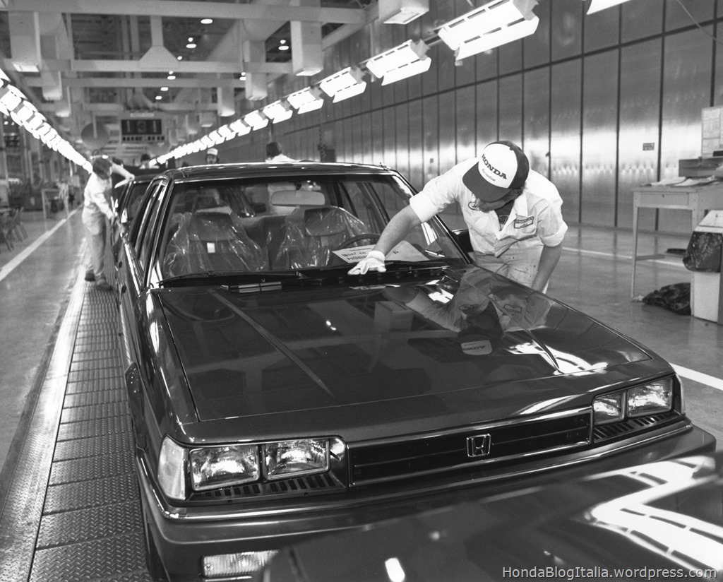 1982 Accord 2nd Generation Engine