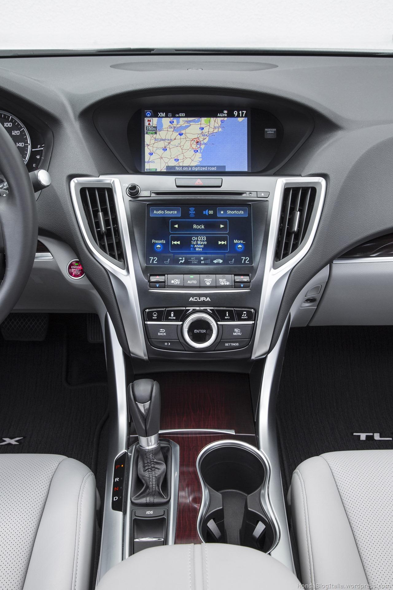 Acura Tlx Interior >> #Acura #TLX 2017 – HONDA Blog Italia