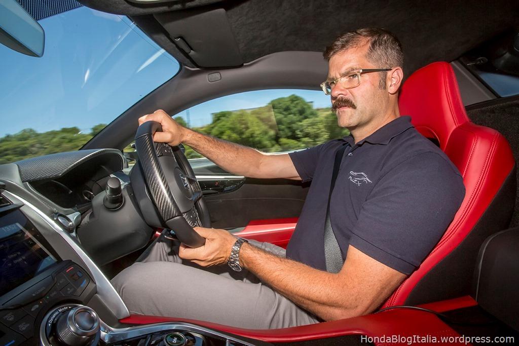 Pikes Peak class winner and Honda engineer Nick Robinson talks about the dynamic development of new NSX