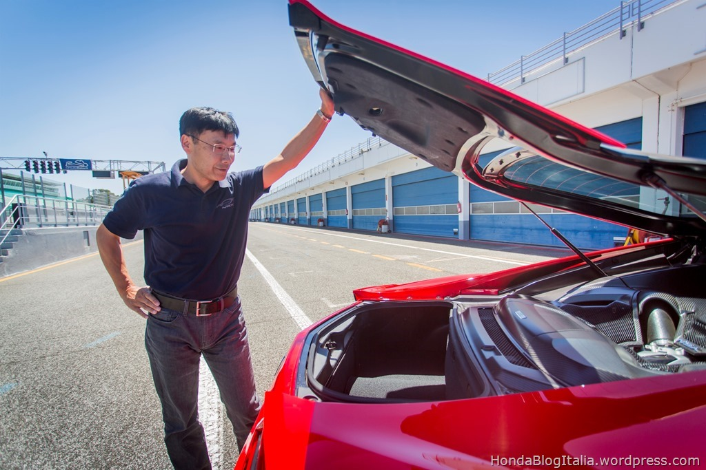 Engine chief Yasuhide Sakamoto gives an insight into NSX development