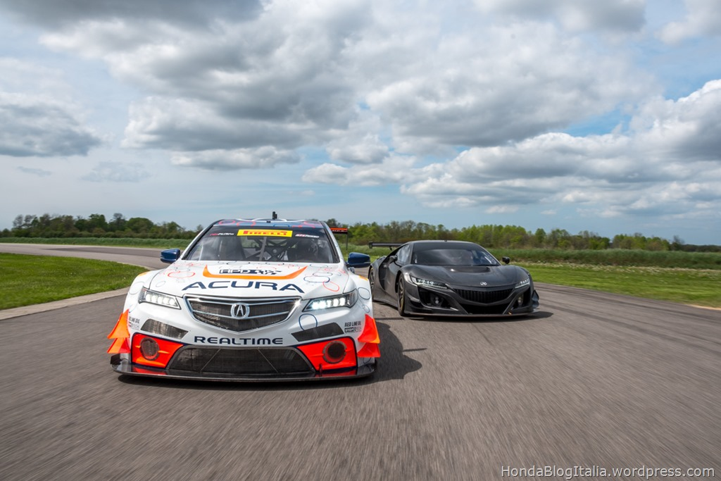 Acura NSX GT3 Program Progressing with Surprise Public Test Debut