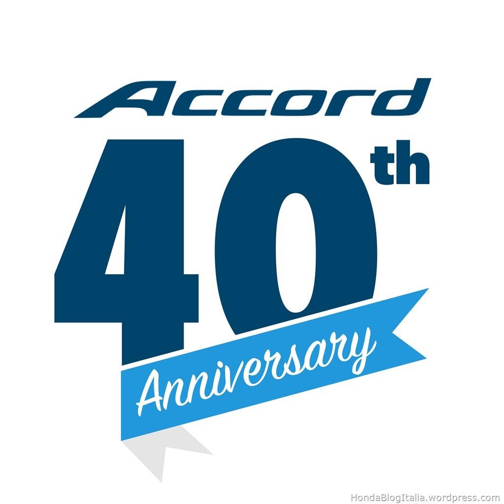 Accord 40th Anniversary logo