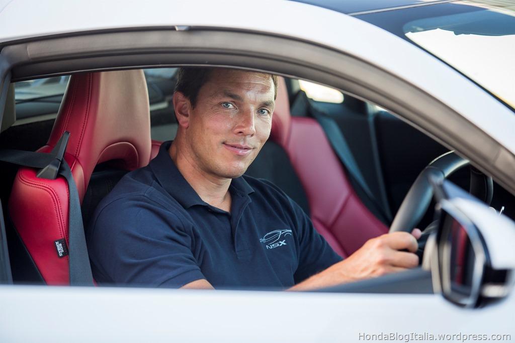 Vehicle Performance leader Jason Widmer shares NSX instant response philosophy
