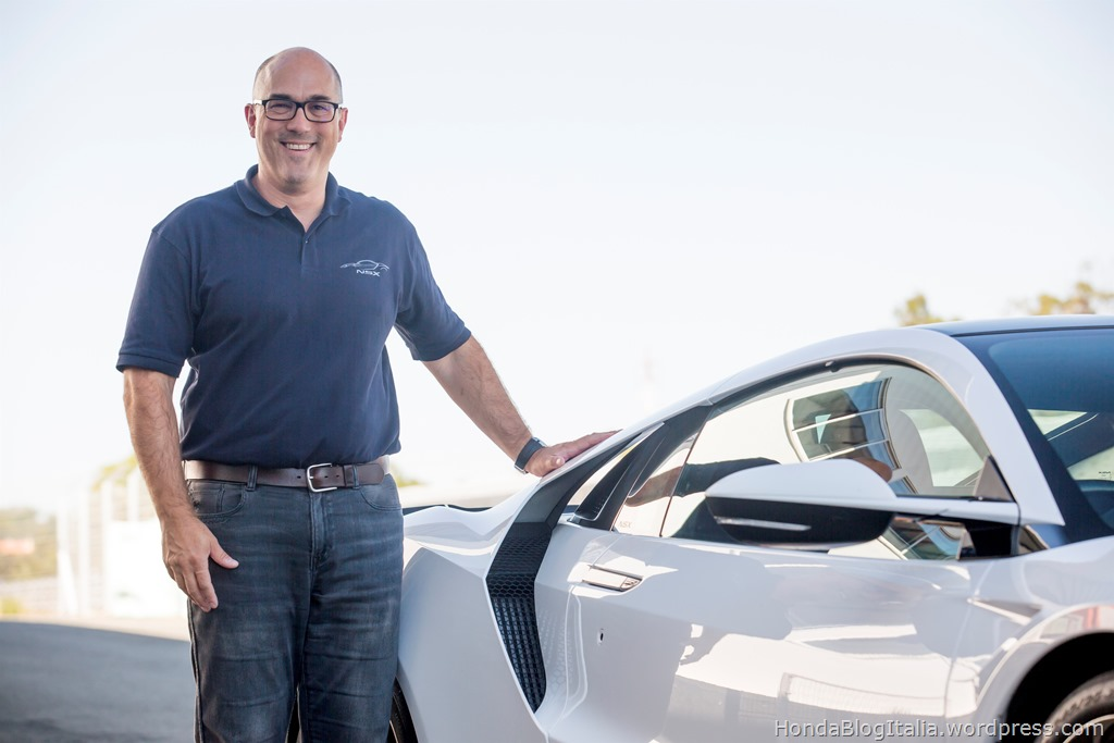 Vehicle engineering leader Jason Bilotta explains world first technology application on new Honda NSX