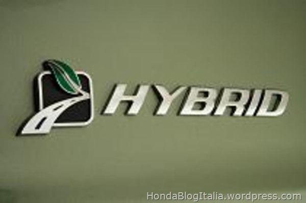 Honda Hybrid Logo