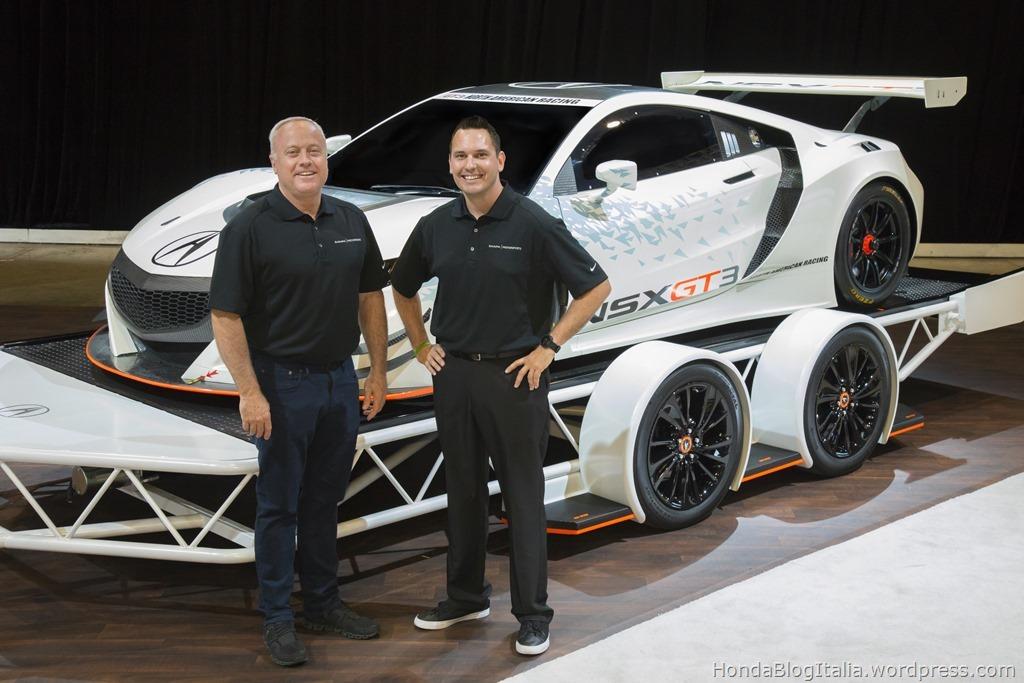 2017 Acura NSX GT3 Racing Teams