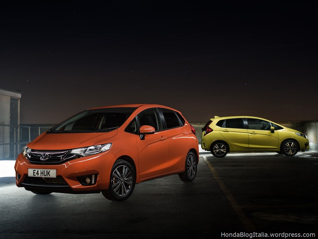 BRIGHTLY COLOURED CARS ADD MORE THAN JAZZ
