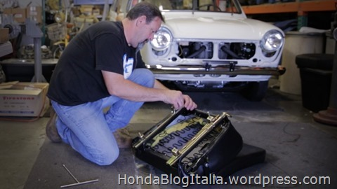 Restoration of Honda's Serial One