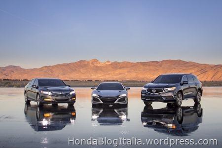 2017 Acura MDX Sport Hybrid with NSX and RLX Sport Hybrid