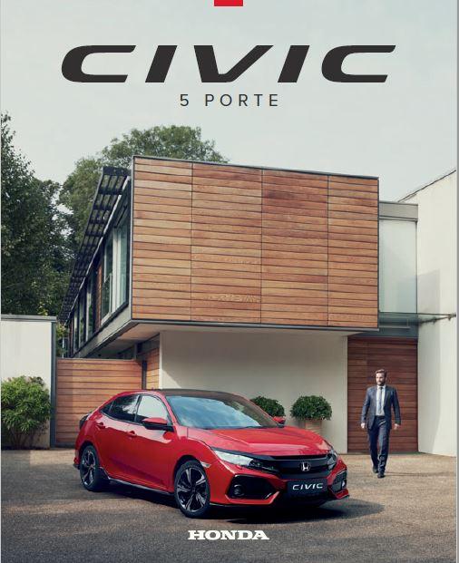Brochure Honda Civic 5 porte 2017