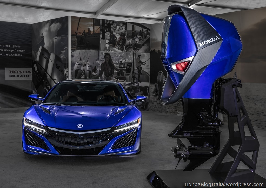 Sleek, Aerodynamic, Powerful and Stylish – Honda Marine Concept