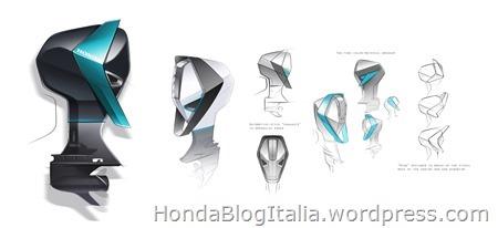 Honda Marine Design Concept Sketches