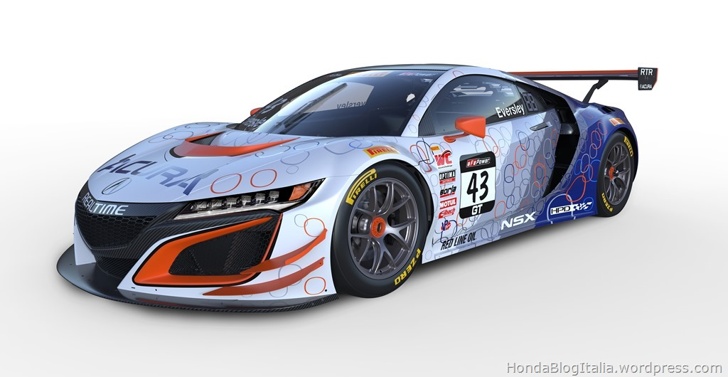 Acura Reveals Exciting NSX GT3 Pirelli World Challenge Liveries