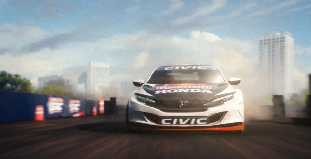 Racing-Inspired Brand Campaign Heralds New Honda Performance Mod