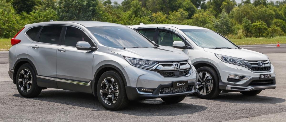 #Honda CR-V V vs. Honda CR-V IV