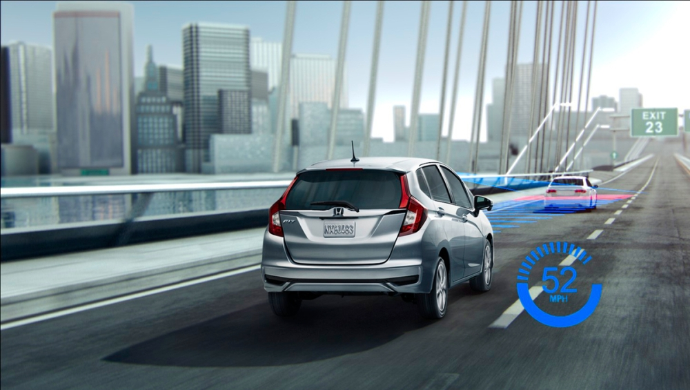 2018 Honda Fit EX-L with Honda Sensing