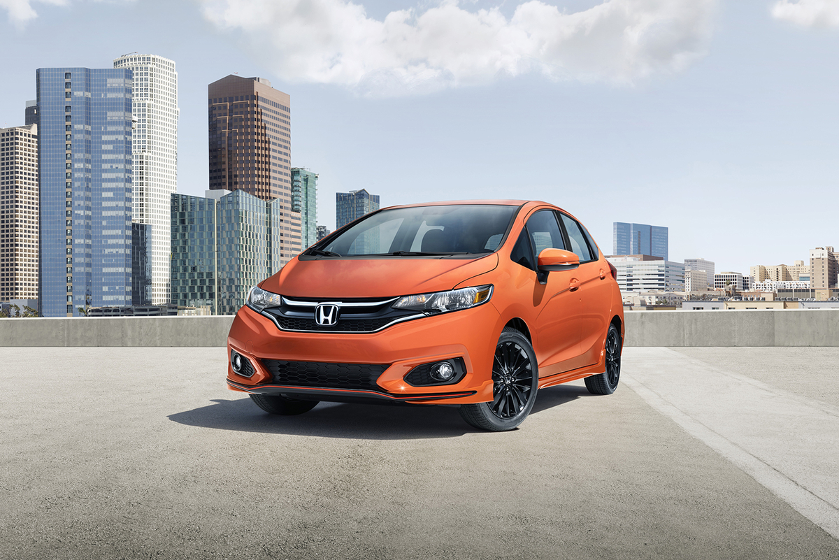 #Honda #Fit Restyling 2018 Al Debutto In Nord America