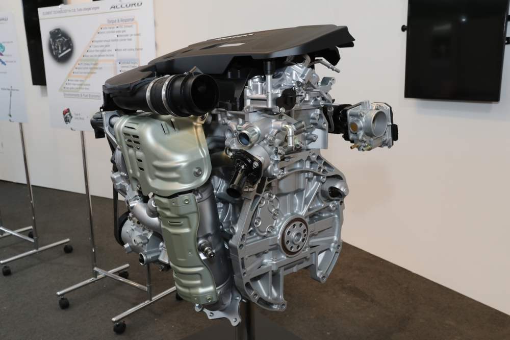 Next Generation Honda Accord Powertrain