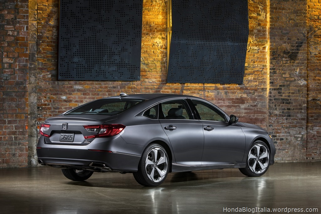 12 - 2018 Honda Accord Touring
