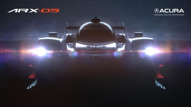 Acura Teases New ARX-05 Prototype Race Car