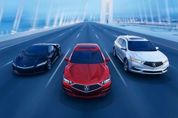 Acura Sport Hybrid Lineup
