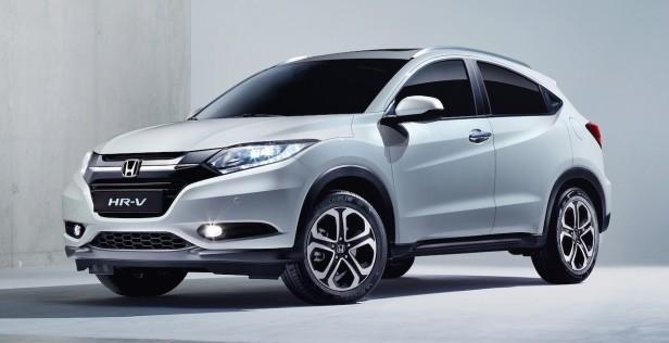 Honda-HR-V-front-three-quarters