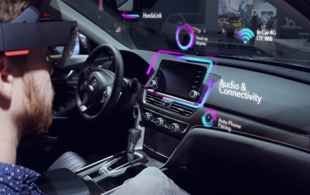 Honda Debuts HondaLens™ Augmented Reality at the 2017 Los Ange