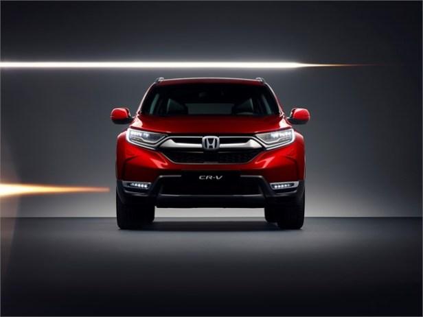 Honda to unveil the all-new CR-V at the Geneva Motor Show
