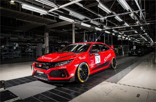 2018 Synchro Motorsport Civic Type R