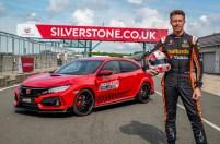 Three in three for Type R: British Touring Car champion, Matt Neal, takes third lap record of 'Type R Challenge 2018' at Silverstone GP circuit
