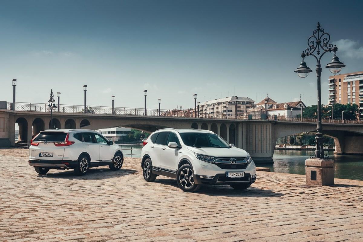 #Honda #CR-V Hybrid 2019