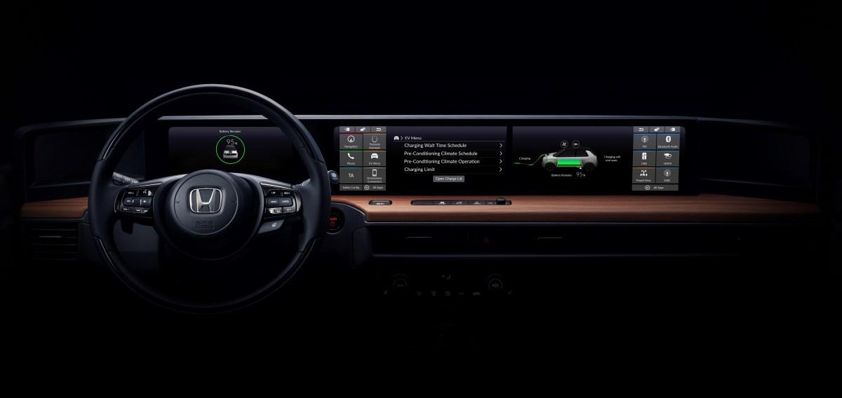 #Honda svela in anteprima gli interni del prototipo elettrico presentato a Ginevra